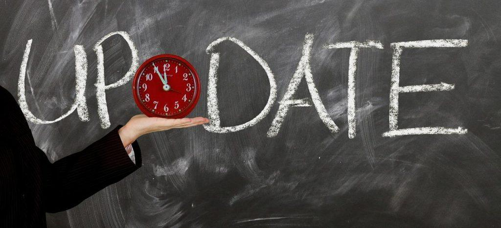 Mantener el sistema actualizado es la tarea más indispensable del mantenimiento web